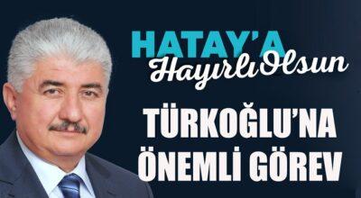 Türkoğlu'na önemli görev!