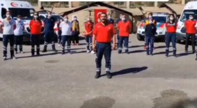Sınırdaki sağlık çalışanlarından Türkiye'ye mesaj var