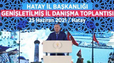 Erdoğan, Hatay teşkilatına talimat verdi