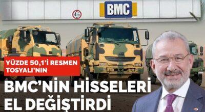 BMC'de büyük patron Fuat Tosyalı!