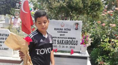 Şehit Umut Sakaroğlu'nu adını taşıyan okul unutmadı!