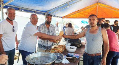 Festivalde balık-ekmek keyfi