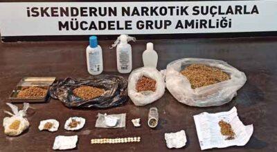 Uyuşturucuyla mücadelede nokta atışı; 182 gözaltı