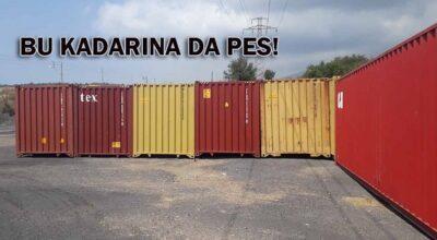 Assanport'un çalınan konteynerleri bulundu