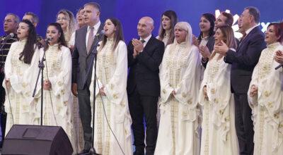 Medeniyetler Korosu müziğin evrensel diliyle konuştu!