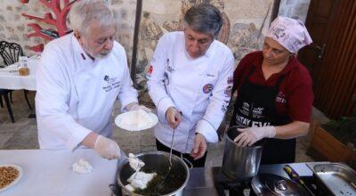 Rus şefler, Hatay yemekleri yaptı