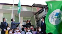 İskenderun'un ilk Eco-Okul'u bayrağını astı